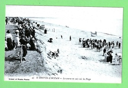 SAINT-BREVIN - L'OCEAN - LA COURSE EN SACS SUR LA PLAGE - Saint-Brevin-l'Océan