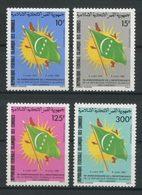 COMORES 1985 PA N° 213/216  Neufs MNH Superbes C 8,50 € Indépendance Drapeau Flag Soleil - Isole Comore (1975-...)