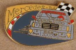 MERCEDES BENZ (SCHWEIZ AG - SUISSE SA)- BERLIN 2000 - SHELL - N°2647 / 3000 - DRAPEAU DAMIER - CIRCUIT -            (20) - Mercedes
