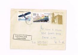 Lettre De Gliwice à Rapid City (USA) - 1944-.... République