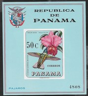 PANAMA - 1967 - LAELIA CATTLEYA - FOGLIETTO NUOVO ** (MICHEL BL 71) - Orchidee