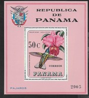 PANAMA - 1967 - LAELIA CATTLEYA - FOGLIETTO NUOVO ** (MICHEL BL 70) - Orquideas