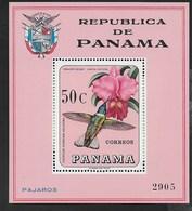 PANAMA - 1967 - LAELIA CATTLEYA - FOGLIETTO NUOVO ** (MICHEL BL 70) - Orchidee