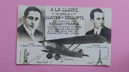 A La Gloire De Nos Héros De L'air Costes Et Bellonte :::: Aviation - Aviateurs - Flieger
