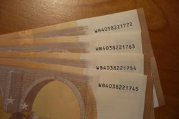 50 EURO W014 Draghi 2017 W014D5 WB4038221745 - 772 Unc, Neuf - EURO