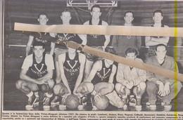 VIERTUS MINGANTI 1957....TEAM...PALLACANESTRO....VOLLEY BALL...BASKET - Trading Cards