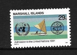 MARSHALL 1991 ADHESION A L'ONU  YVERT N°375 NEUF MNH** - Micronésie