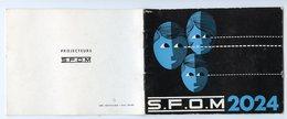 MODE D'emploi Notice Projecteur Diapo Diapositives SFOM 2024 Photo BAUD NANTES 20 Pages Schémas Multi Lampes Paniers - Alte Papiere