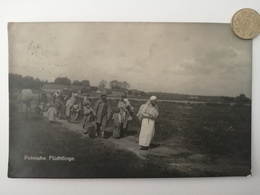 Polnische Flüchtlinge, Deutsche Feldpost, 1916 - Pologne
