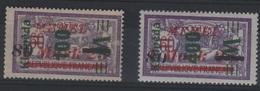 MEM 88 - MEMEL Merson N° 113/114 Neuf* - Memel (1920-1924)