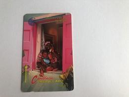Virgin Islands - Woman On Phone 18CBVA - Virgin Islands