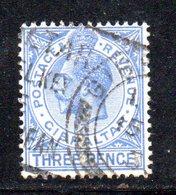 APR2150 - GIBILTERRA 1930 , Unificato N. 90B  Usato  (2380A) . THREE - Gibilterra