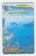 St Vincent GPT Phonecard (Superb Used) Code 6CSVA - San Vicente Y Las Granadinas