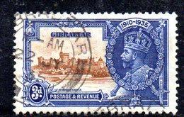 APR2155 - GIBILTERRA 1935 , Giubileo Unificato N. 96  Usato  (2380A) . - Gibilterra