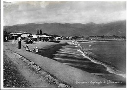 Sarzana (La Spezia). Spiaggia Di Fiumaretta. - La Spezia