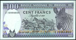 RWANDA - 100 Francs 24.04.1989 {Prefix Z} UNC P.19 - Rwanda