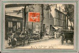 CPA - Le PERREUX (94) - Aspect Des étals Extérieurs Du Marché En 1911 - Le Perreux Sur Marne