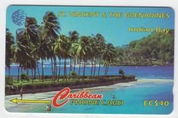 St Vincent GPT Phonecard (Superb Used) Code 13CSVC - St. Vincent & The Grenadines