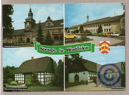 AK - BRD - Spenge / Schloß Mühlenburg, Rathaus, Charlottenburg - Germania