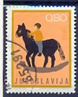 YU 1972-1478 CHILDREN WEEK, YUGOSLAVIA. 1v, Used - 1945-1992 Sozialistische Föderative Republik Jugoslawien