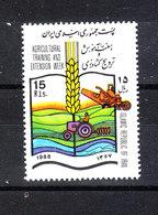 Iran   -   1988.  Sviluppo Della Agricoltura. Development Of Agriculture. MNH - Agricoltura