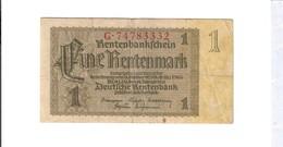 1937 Germania 1 Mark Lotto 2695 - Otros