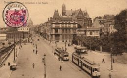 BELGIQUE - BRUXELLES - Porte De Schaerbeek Et Rue Royale. - Schaarbeek - Schaerbeek