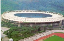 Postcard Stadium Roma Italia Olimpico Stadion Sports Stade Stadio Estadio Football Soccer Calcio Sport - Fussball