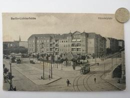 Berlin-Lichterfelde, Händelplatz, Strassenbahn, 1912 - Lichterfelde