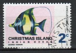 Christmas Island 2 Cent Stamp From 1968 Fish Set. - Christmas Island