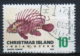 Christmas Island 10 Cent Stamp From 1968 Fish Set. - Christmas Island