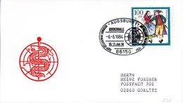 "(FC-6) BRD Sonderstempel-Beleg ""XXX. INTERNATIONAL CONGRESS ON MILITARY MEDICINE 1994"" EF BRD SST 6.6.1994 AUGSBURG 1 - Medizin"