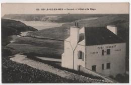 CPA 56 BELLE ILE En MER PORT DONANT Hôtel Et Plage - Belle Ile En Mer