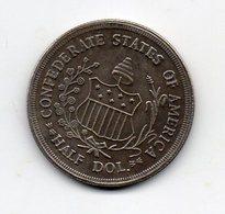 USA : 1/2 Dollar 1861 - Émissions Fédérales