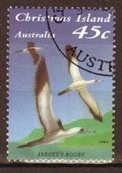Christmas Island 1993 Single 45 Cent Stamp From The Seabirds Set. - Christmas Island