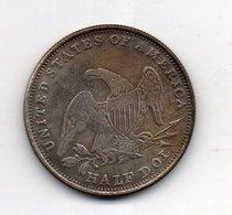 USA : 1/2 Dollar 1839 - Émissions Fédérales