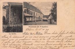 Salut De Bilsen - Pensionnat Du St Sepulcre - La Grotte - BILZEN - Bilzen