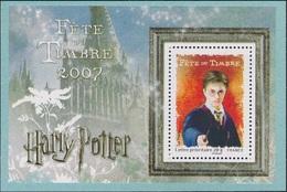 FRANCE Bloc  106 ** MNH Fête Du Timbre 2007 Harry Potter De J.K. Rowling Sorcier Witch - Mint/Hinged