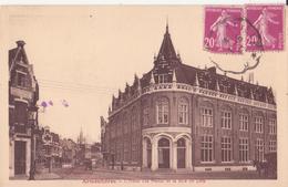 CPA -   ARMENTIERES - L' Hôtel Des Postes Et La Rue De Lille - Armentieres