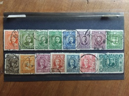 CINA Anni '30 - Lotticino 15 Francobolli Differenti Timbrati × 0.10 Cad. + Spese Postali - Cina