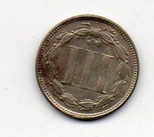 USA : 3 Cts 1874 - Émissions Fédérales