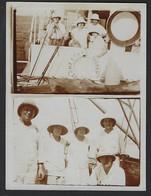 BELGISCH CONGO * CONGO BELGE * 11 PHOTOS * FAMILLE DE BREYER * BOMA 1926 * VOIR SCANS * - Albums & Collections