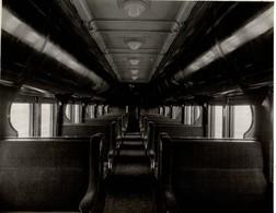 VOITURE PULLMAN  NATIONAL DE CANADA  RAILWAY CHEMIN DE FER EISENBAHN 23*17CM Fonds Victor FORBIN 1864-1947 - Trenes