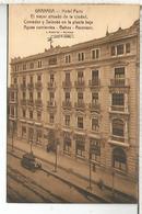 GRANADA HOTEL PARIS SIN ESCRIBIR - Granada
