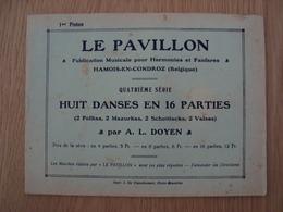 RECUEIL LE PAVILLON HAMOIS-EN-CONDROZ BELGIQUE - Scores & Partitions