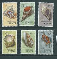 Kenya 1971 Shell Definitives 1 Shilling - 20 Shillings MNH - Kenya (1963-...)