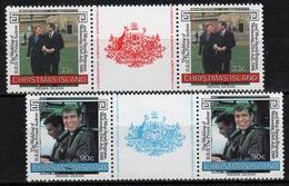 Christmas Island 1986 Two Sets Of Stamps To Celebrate Royal Wedding. - Christmas Island