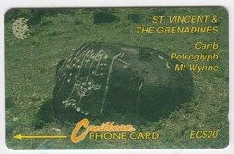 St Vincent GPT Phonecard (Fine Used) Code 7CSVB - St. Vincent & Die Grenadinen