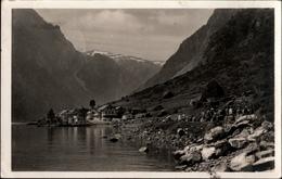! Alte Ansichtskarte Aus Gudvangen, Norwegen, Norway, Norvege, Schiffspost KdF, Monte Sarmiento - Briefe U. Dokumente