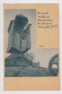 Oude Molen Ranst. Knipsel Gekleefd Op Dun Kartonnen Board (postkaartformaat). Geen Herkomstvermelding. - Vieux Papiers